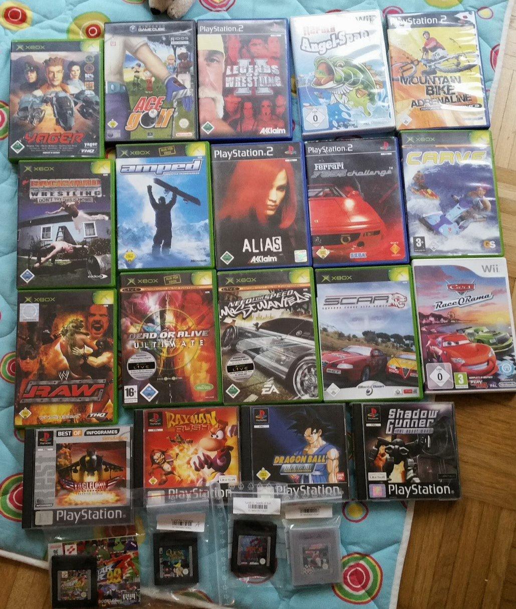 23 Neue Games Für PS1, PS2, Xbox, Wii & GB